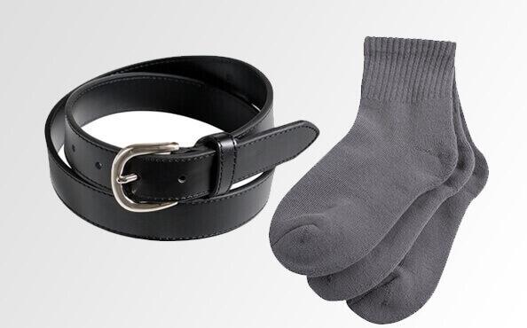 Socks & Belts